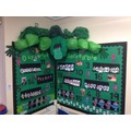 Hulk inspired Maths in the Hedgehogs Class