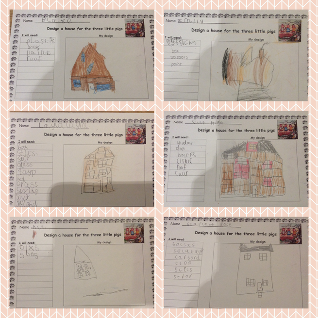 Designing houses for the 3 pigs