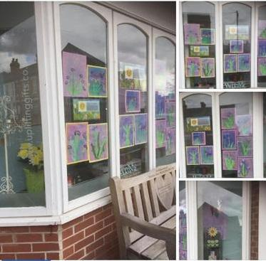 The children in year 2 have created some wonderful art work inspired by Monet. Great job!