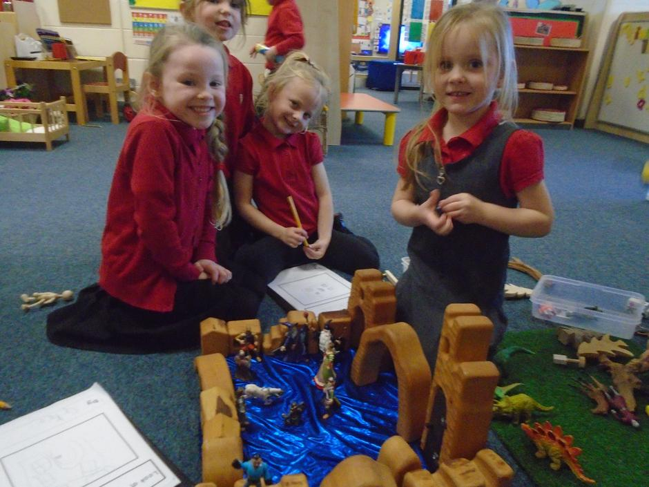 We love playing and learning together!