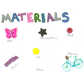 Materials Around Home Poster by Emie