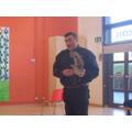 A Tawny Owl.
