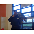 An Eagle Owl - the biggest kind of owl in the worl