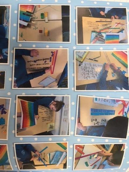Exploring fractions in Y4