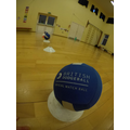 Year 5&6 Dodgeball morning club all ready to go!