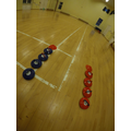 All set up for Year 3 & 4 Morning Sports Club