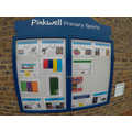 Our new outdoor display board