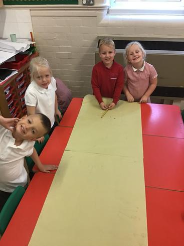 As part as our science we have been identifying different parts of the body.