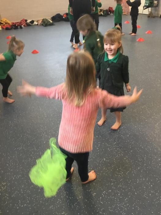 Throwing and Catching with our Friends