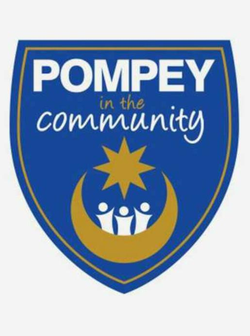 Pompey in the Community logo