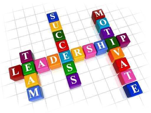 leadership words on a crossword grid