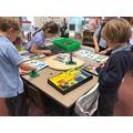 exploring moving parts through Lego Dacta