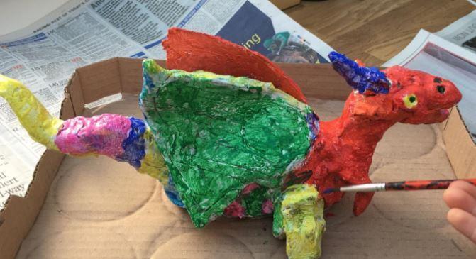 Bertie Challenge around our Dragon machine literacy