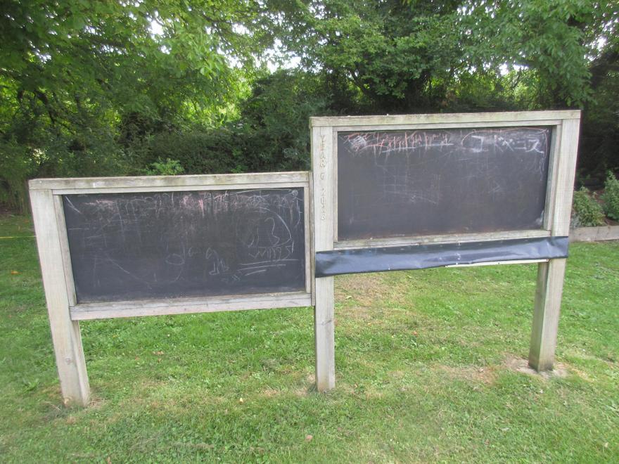 Outdoor Blackboards