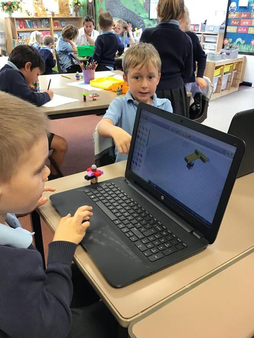 building our products using Lego Designer