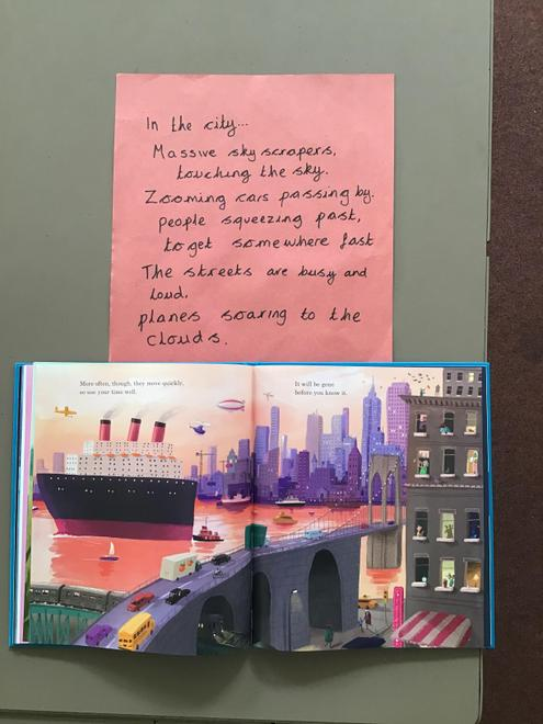 Collaborative poetry (in the city)