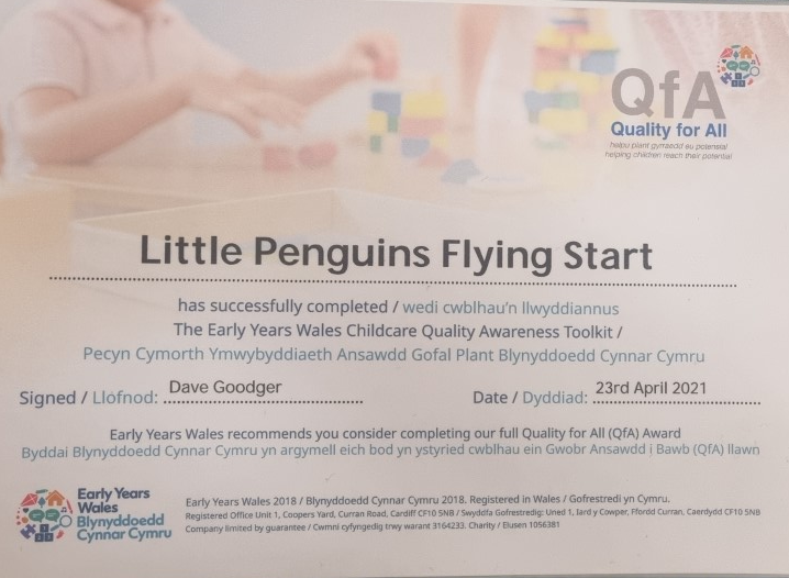 Early Years Wales Childcare Quality Awareness Toolkit