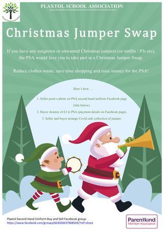 Christmas Jumper Swap (November - December 2020)