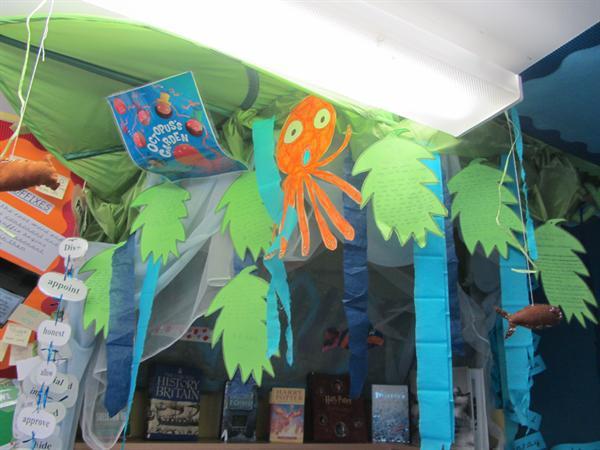 Octopus's Garden aka the book corner
