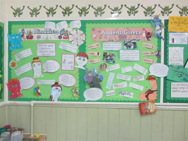 RE and History displays