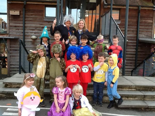 Favourite Story Characters for 'Book Week'.