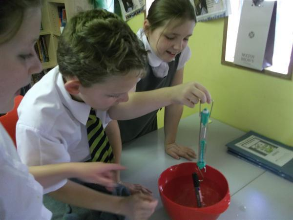 Science-measuring forces
