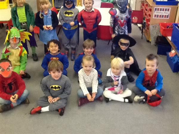 Postgate Super heroes for Children in Need!