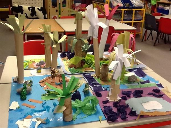 Our dinosaur World!
