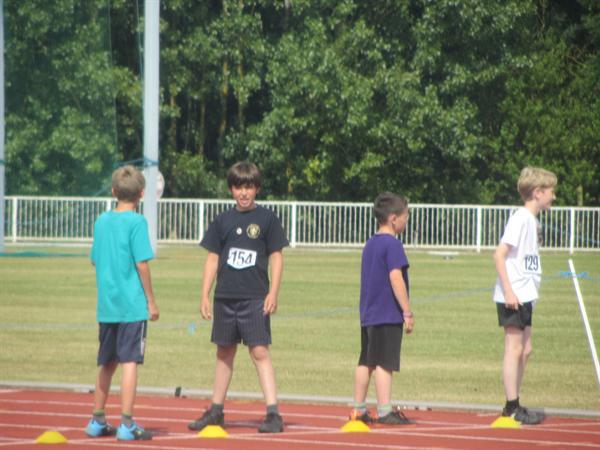 Athletics tournament