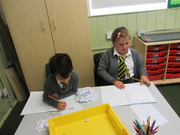 We have been learning about place value in maths