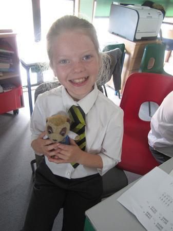 Our class Mascot Marlowe Meerkat