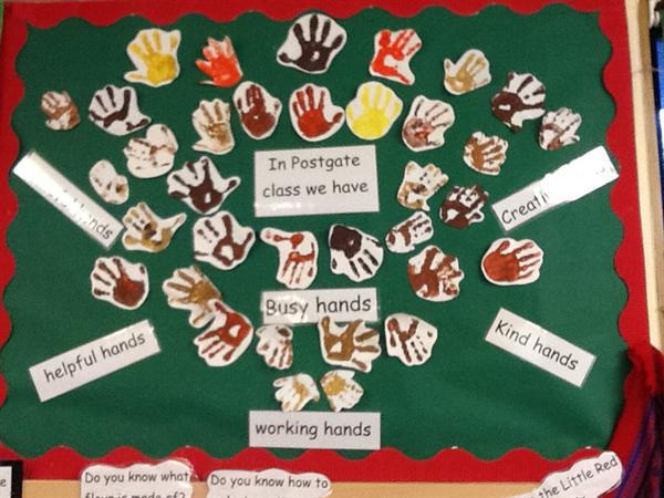 Our fantastic hands!