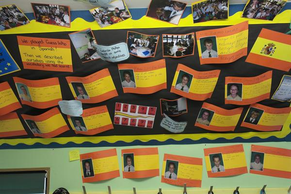 Our Spanish Display