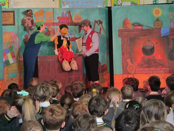 Pinocchio Performance at Smarden school