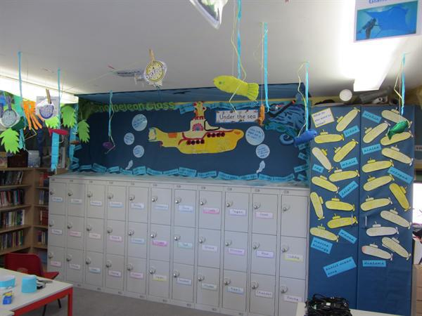 Oceans topic board