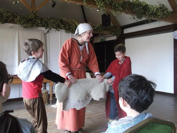 Anglo-Saxon Day!