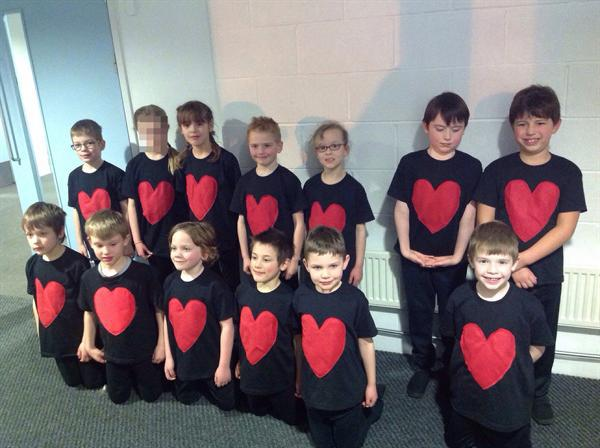 Year 2 danced at the North School in Ashford