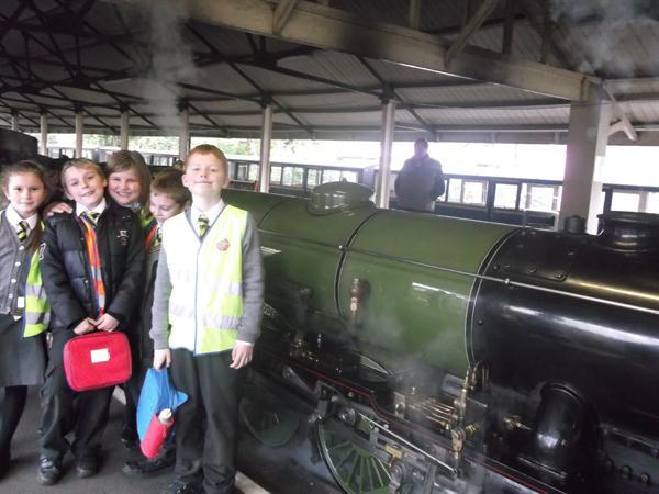 Trip to Dymchurch and Hythe Railway