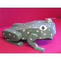 A froggy sculpture!