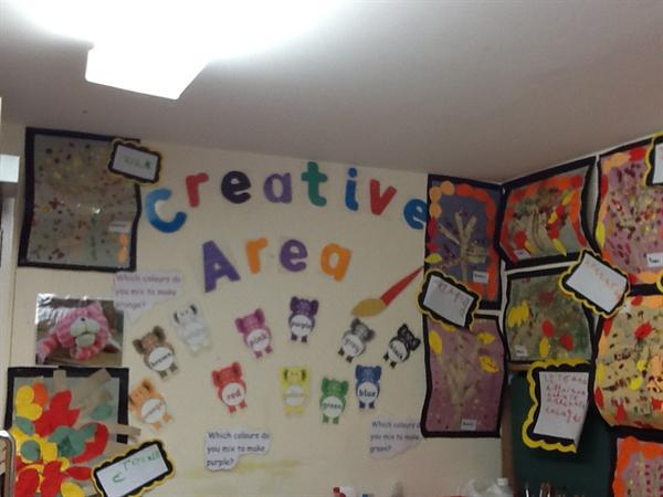 Our Creative Area