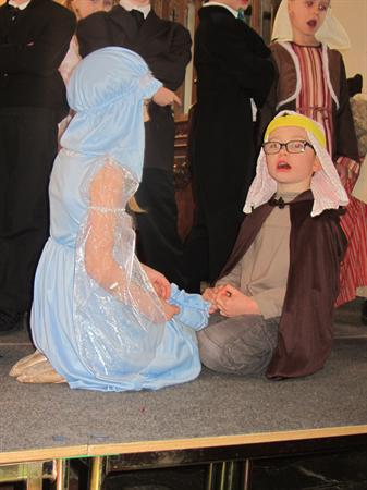 Some more of our Christmas Play