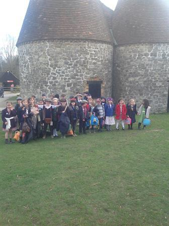 Blake Class went to the Museum of Kent Life
