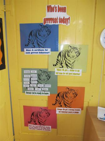 Our behaviour Tigers