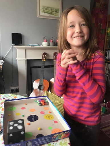 Fran's 'Candy World' board game