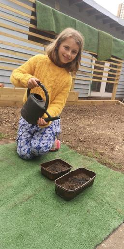 Mabel the gardener