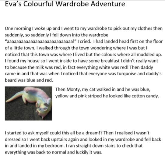 Eva's AMAZING colour story!