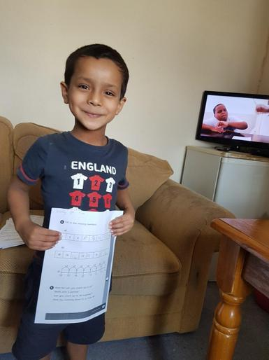 Hussain's super learning @ home!