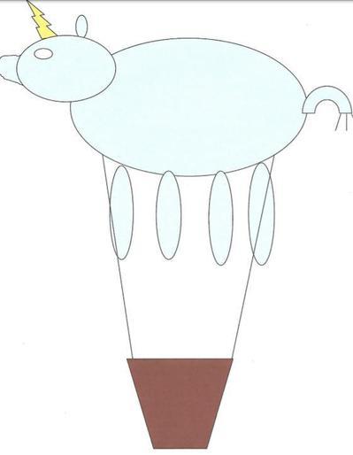 Maria and her hot air balloon design!