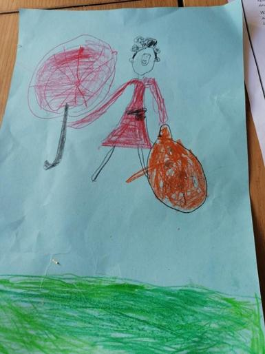 Mary Poppins by Phoebe
