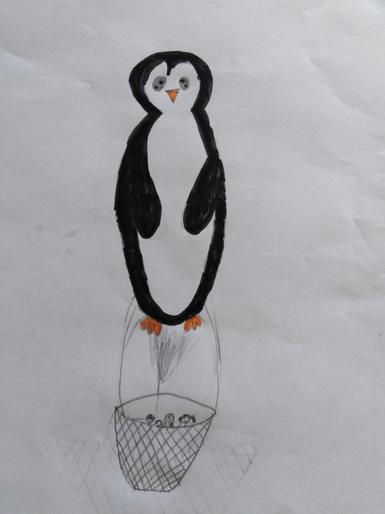 Edith's hot air balloon design!